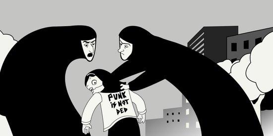 Punk is Not Ded! Art Print