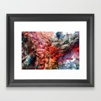 Dyed in the Wool Framed Art Print