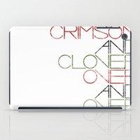 Crimson And Clover Over … iPad Case