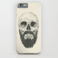 iPhone & iPod Case featuring The beard is not dead by Balazs Solti