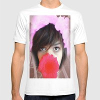 Psychedelic Mens Fitted Tee White SMALL