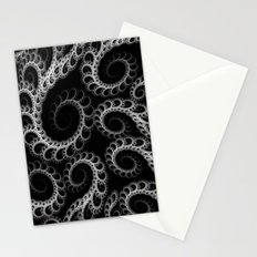 Tentacles Monochrome Stationery Cards
