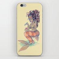 Mermaids: Strawberry Tar… iPhone & iPod Skin