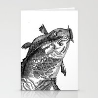 Human Animal Stationery Cards