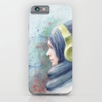 Girl Watercolor iPhone 6 Slim Case