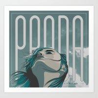 PRADA Art Print