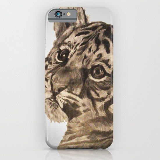 Baby Tiger iPhone & iPod Case