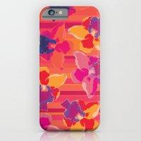 Fluor Flora - Hot Flamin… iPhone 6 Slim Case