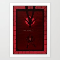 Deadpool - Pool Party Art Print