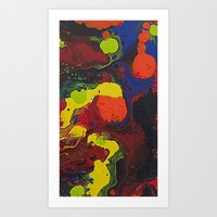 Abstract Colibrii. Art Print
