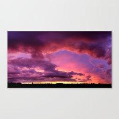 Redsky Canvas Print