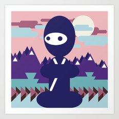 teenja ninja  Art Print