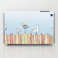 Fence Birdies iPad Case
