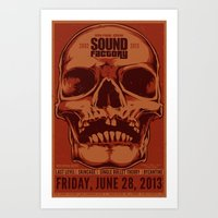 Sound Factory Final Show Poster (Variant) Art Print