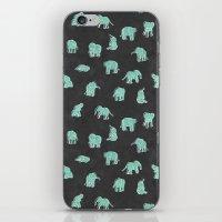 Indian Baby Elephants Bl… iPhone & iPod Skin
