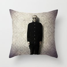 the corpsican Throw Pillow