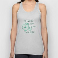 Penny Farthing. Unisex Tank Top