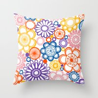 BOLD & BEAUTIFUL quirky Throw Pillow