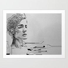 daze Art Print