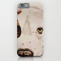 Pit Bull Portrait iPhone 6 Slim Case