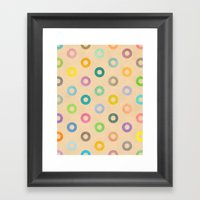 Auras. Framed Art Print