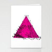 A (abstract geometrical type) Stationery Cards