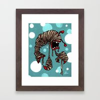 Lobster Mummy! Framed Art Print