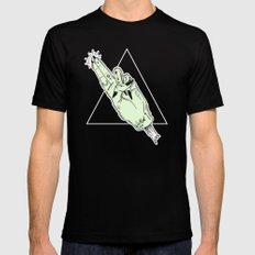 Teen Witch 2 SMALL Black Mens Fitted Tee