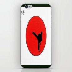 Art Of Karate Print iPhone & iPod Skin