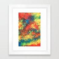 Abstract Paint Phone Cas… Framed Art Print