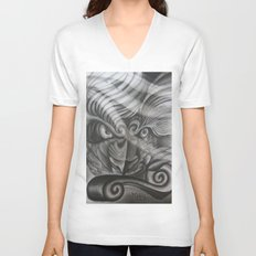 Don't Mess With The Fu Unisex V-Neck