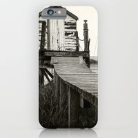 iPhone Cases featuring Jetty Shed by Paul Ryan Photography