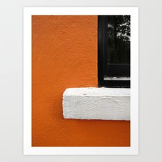 Window Seat Art Print