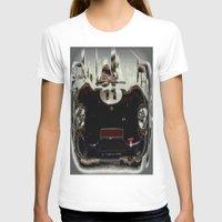 "T-shirt featuring 1956 Lotus ""Eleven"" Sports Car by Chris' Landscape Images & Designs"