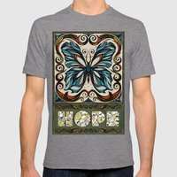 Hope Mens Fitted Tee Tri-Grey SMALL