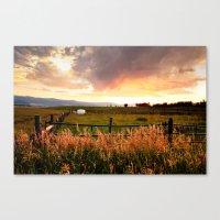 Star Valley Skies Canvas Print