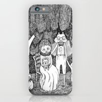 iPhone & iPod Case featuring Fox Family by Ulrika Kestere