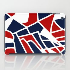 Red White & Blue iPad Case
