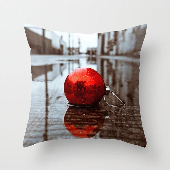 South Tacoma Christmas Throw Pillow