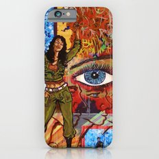 Militant Millie and the Peace Grenade iPhone 6 Slim Case