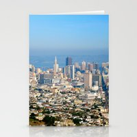 Twin Peaks, San Francisc… Stationery Cards