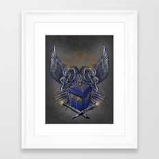 Timelord and Proud Framed Art Print