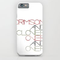 Crimson and Clover Over and Over iPhone 6 Slim Case