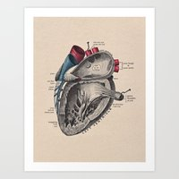 My Heart Beats For You Art Print
