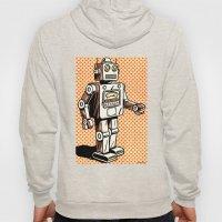Retro Robot Hoody
