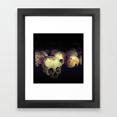 Killing fields Framed Art Print