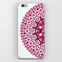 Khatem Rosette 002 | Magenta iPhone & iPod Skin
