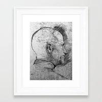 Stay Hungry, Stay Foolish. Steve Jobs 1955–2011 Framed Art Print