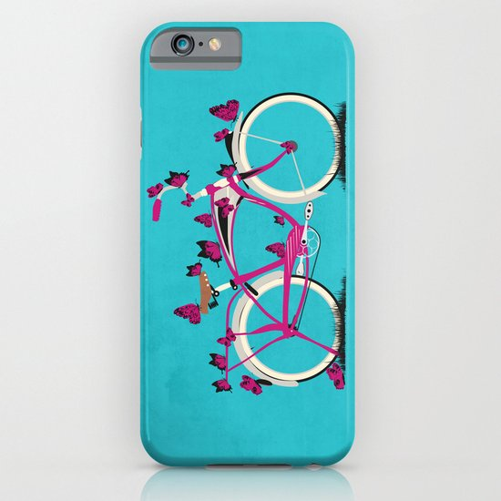 Butterfly Bicycle iPhone & iPod Case