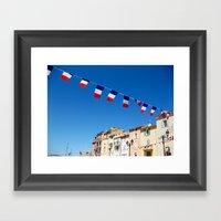 St. Tropez, Côte D'Azur… Framed Art Print